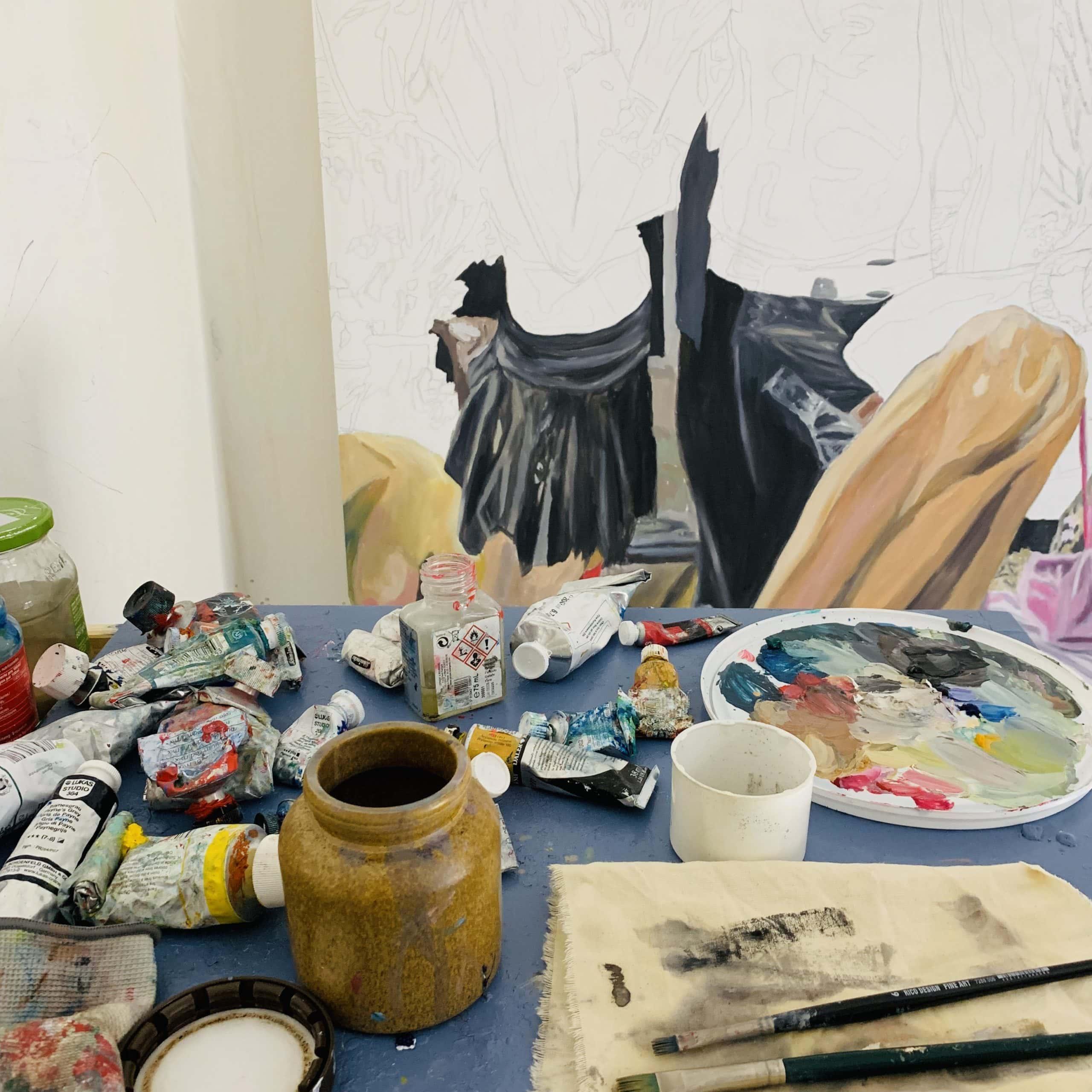 Gemälde malen lassen vom Künstler nikolaus kriese