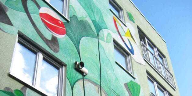 Wandmalerei Raumgestaltung