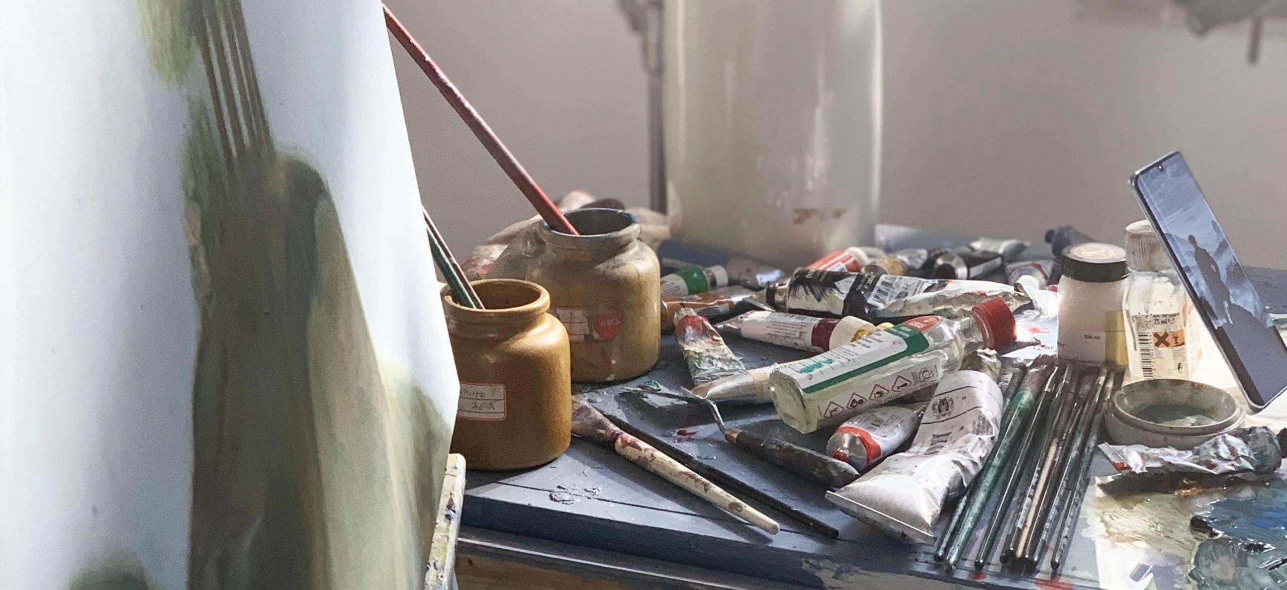 ölbild malen lassen vom kuenstler atelier