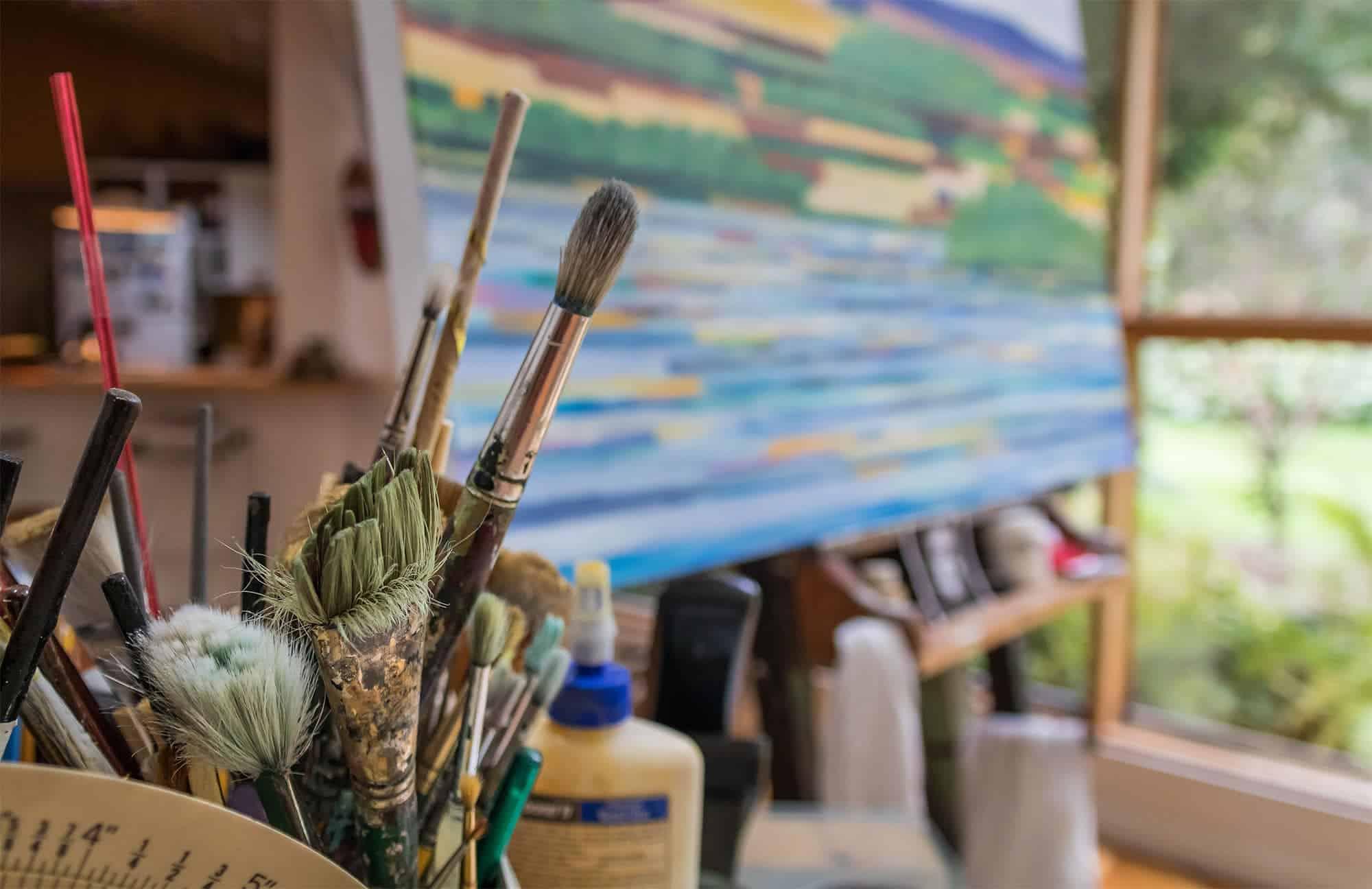 Acrylbilder kaufen oder Bilder malen lassen?