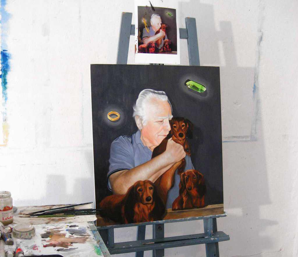 Individuelle Portraitmalerei vom Künstler – professionell umgesetzt