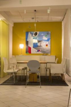 Ausstellung Malerei Wohnzimmer Wandbilder