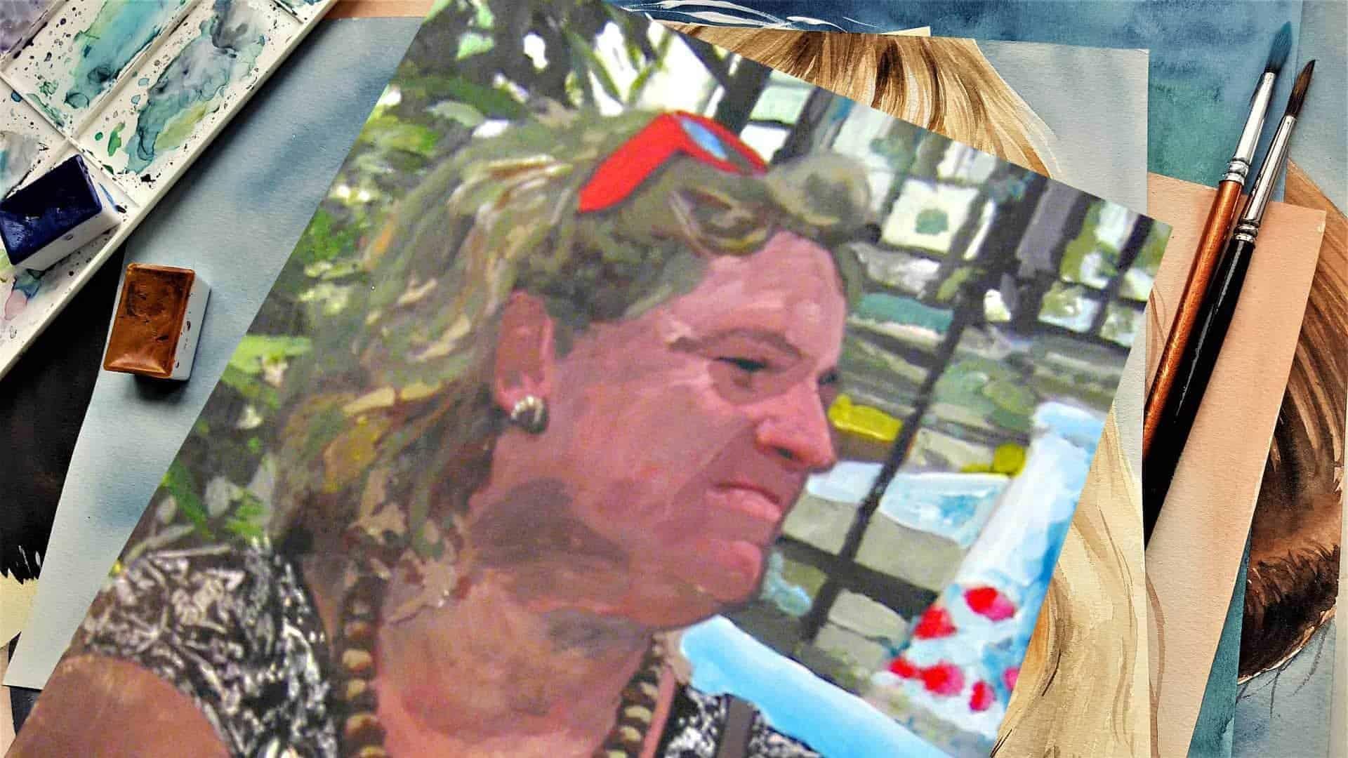 Porträt malen lassen 3