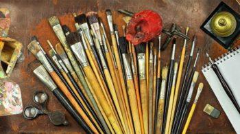 Bilder malen lassen nach Vorlage Pinsel Künstler Gemälde Artist Auftragsmalerei
