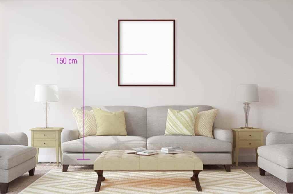 Top Bilder richtig aufhängen: So hängen Sie Gemälde an die Wand! TS96