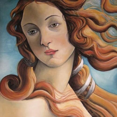 bilder malen lassen alter meister botticelli die venus
