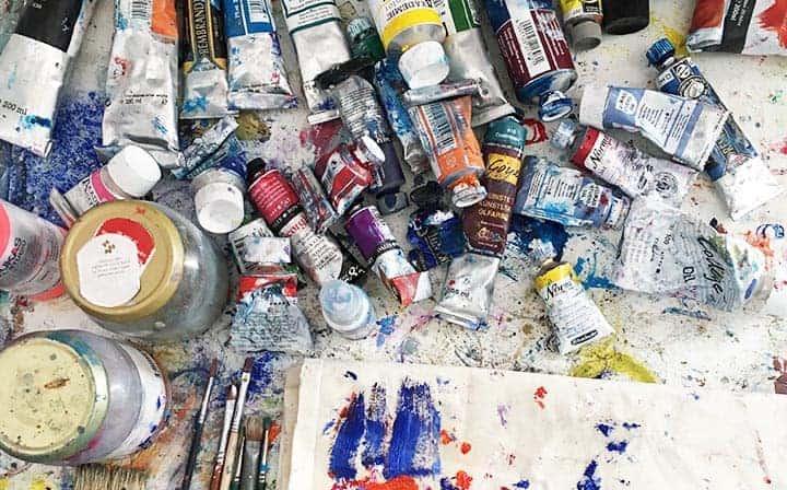 acrylbilder malen lassen atelier kuenstler