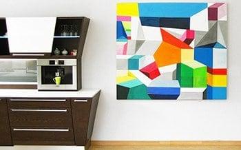 acrylbilder malen lassen auftragsmalerei fur wohnung
