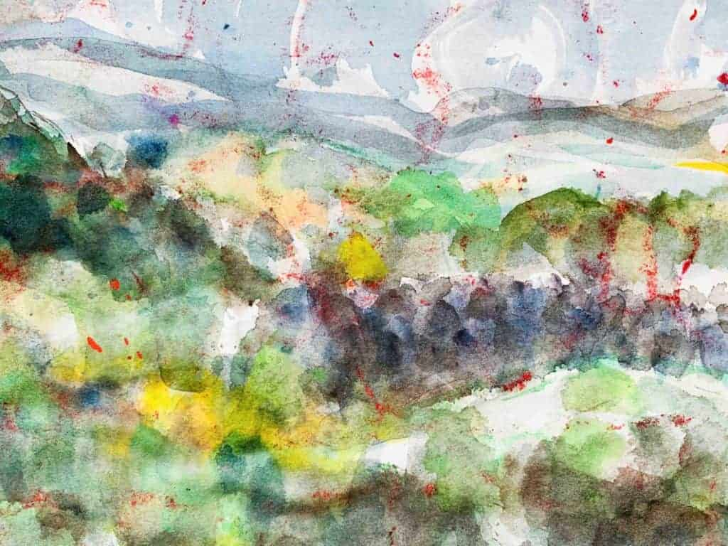 künstler malerei landschaft ölfarbe