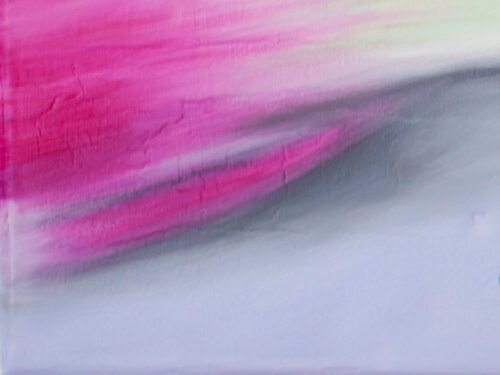 Abstraktes Kunstbild Rosa Grau