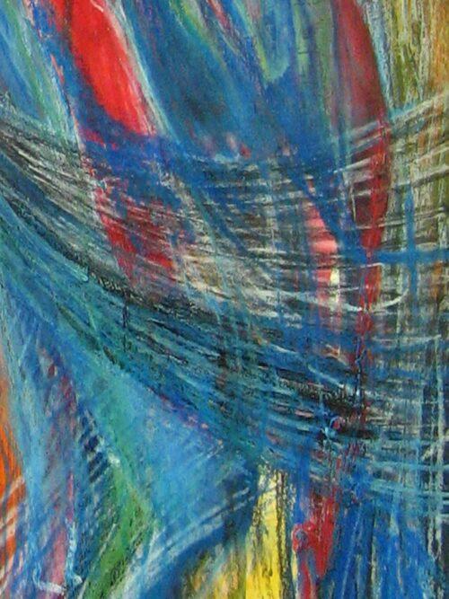 Modernes Acryl Gemälde abstrakte Zeichnung