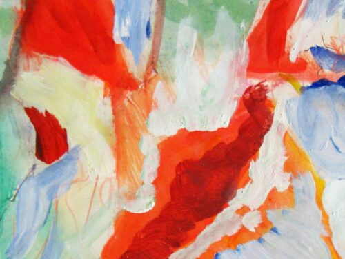Modernes Kunstbild Acryl auf Leinwand Leicht