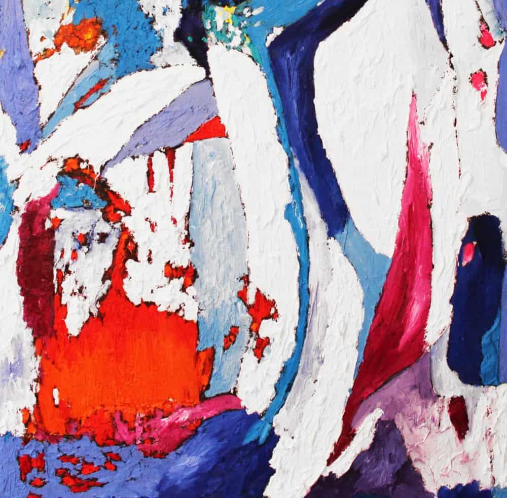 Acryl Gemälde abstrakte Form
