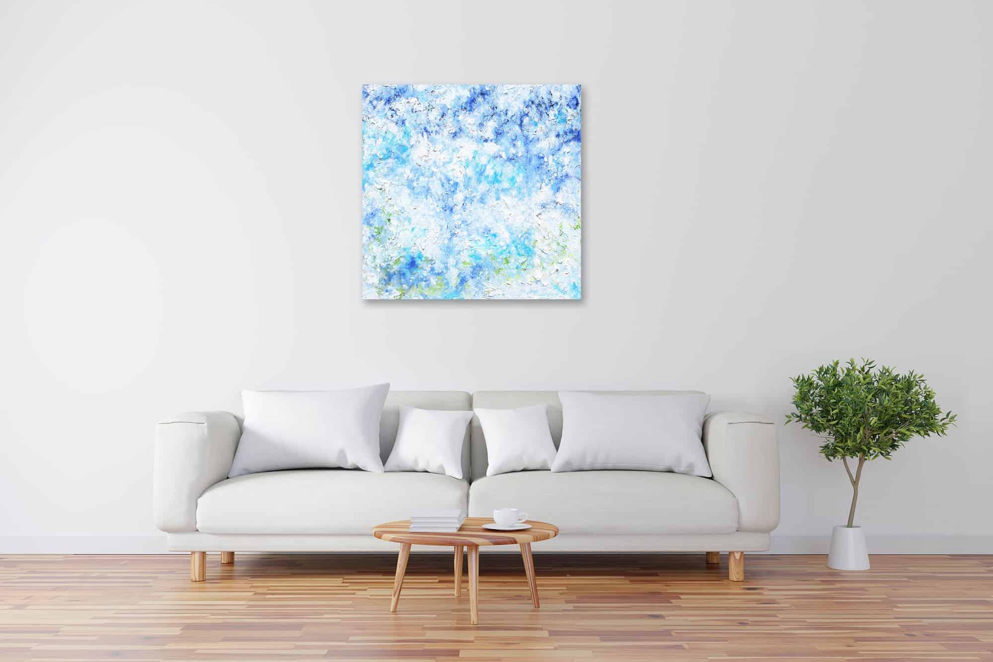 Acryl Gemälde abstrakter Himmel bild kaufen