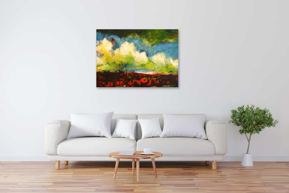 Acryl Gemälde barocke moderne Landschaft bild kaufen