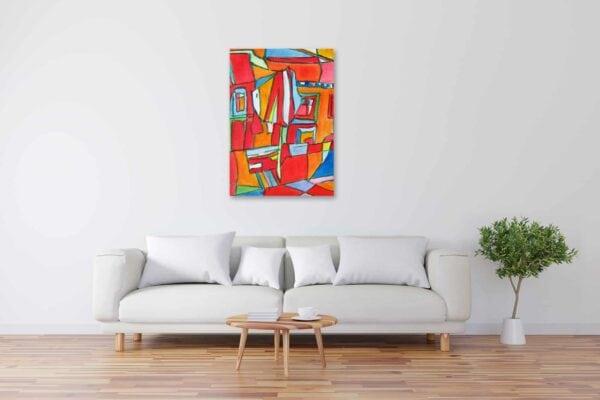 Acryl Gemälde expressiv Abstrakt bild kaufen