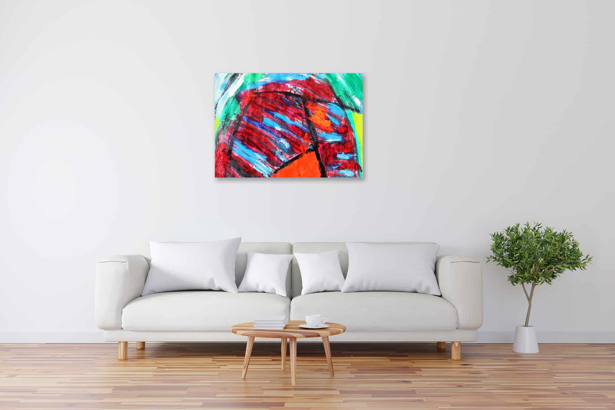 Acryl Gemälde Glück bild kaufen