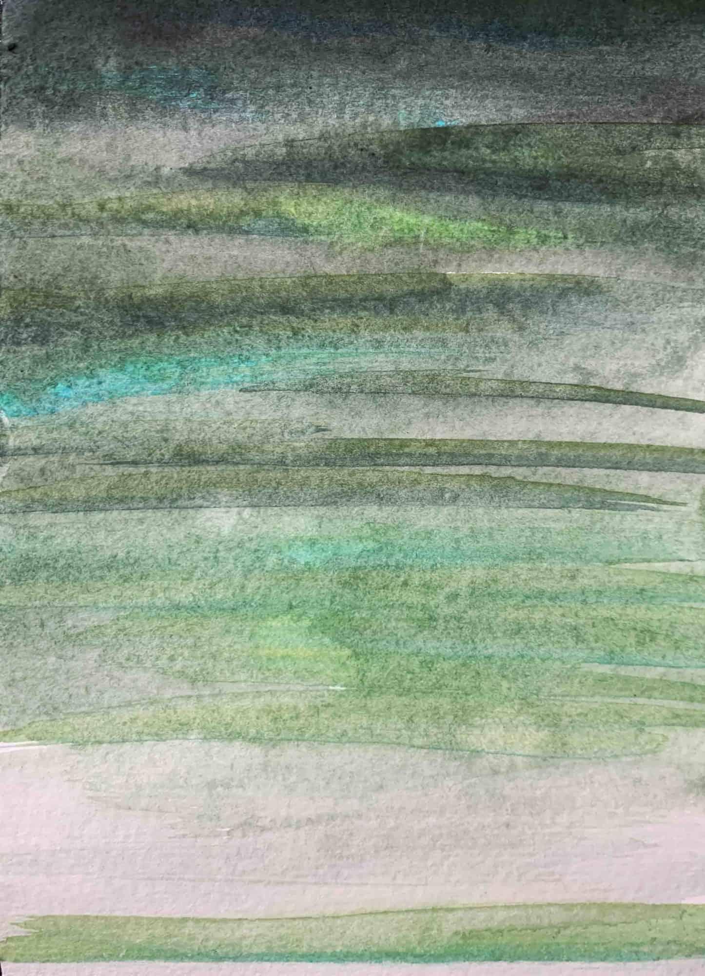 Ölgemälde auf Leinwand grüne Inspiration