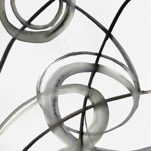 Ölgemälde auf Leinwand minimal abstrakte Formen