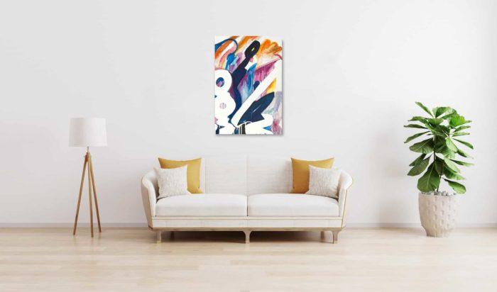 Ölgemälde auf Leinwand wandbild Abstraktion