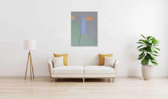 Ölgemälde auf Leinwand wandbild Formen der Ruhe