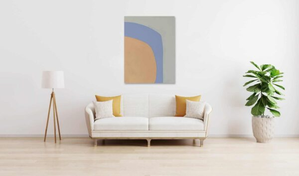 Ölgemälde auf Leinwand wandbild pastellige Ruhe