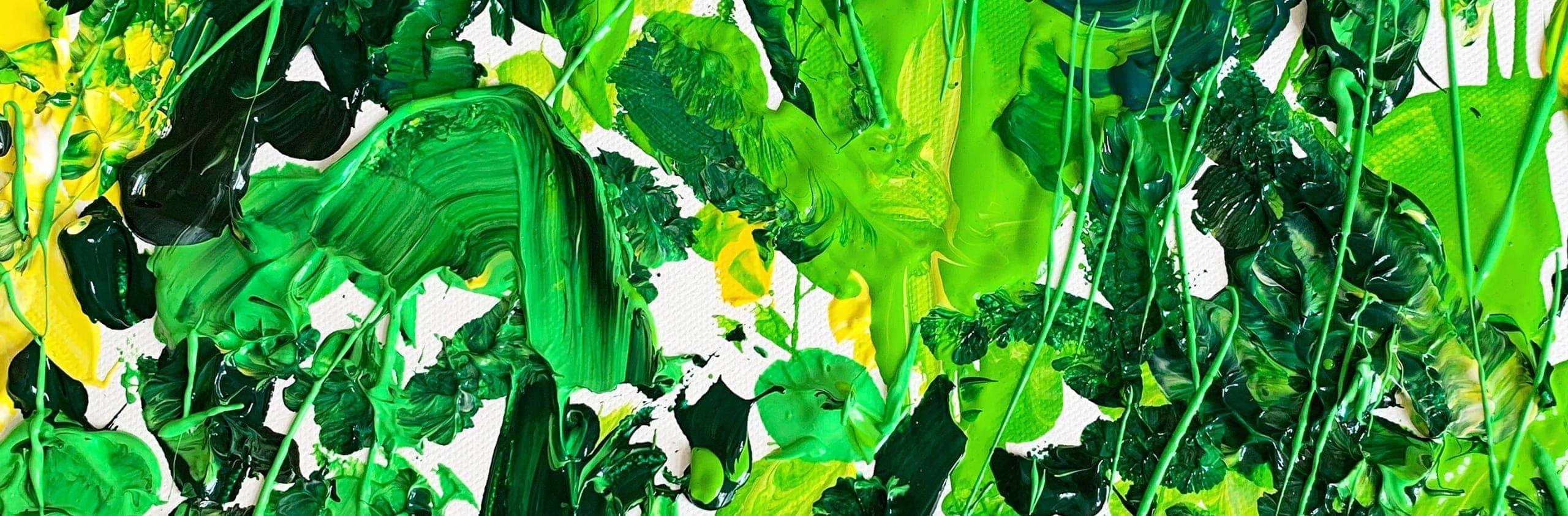 acrylbilder farbe gruen kuenstler