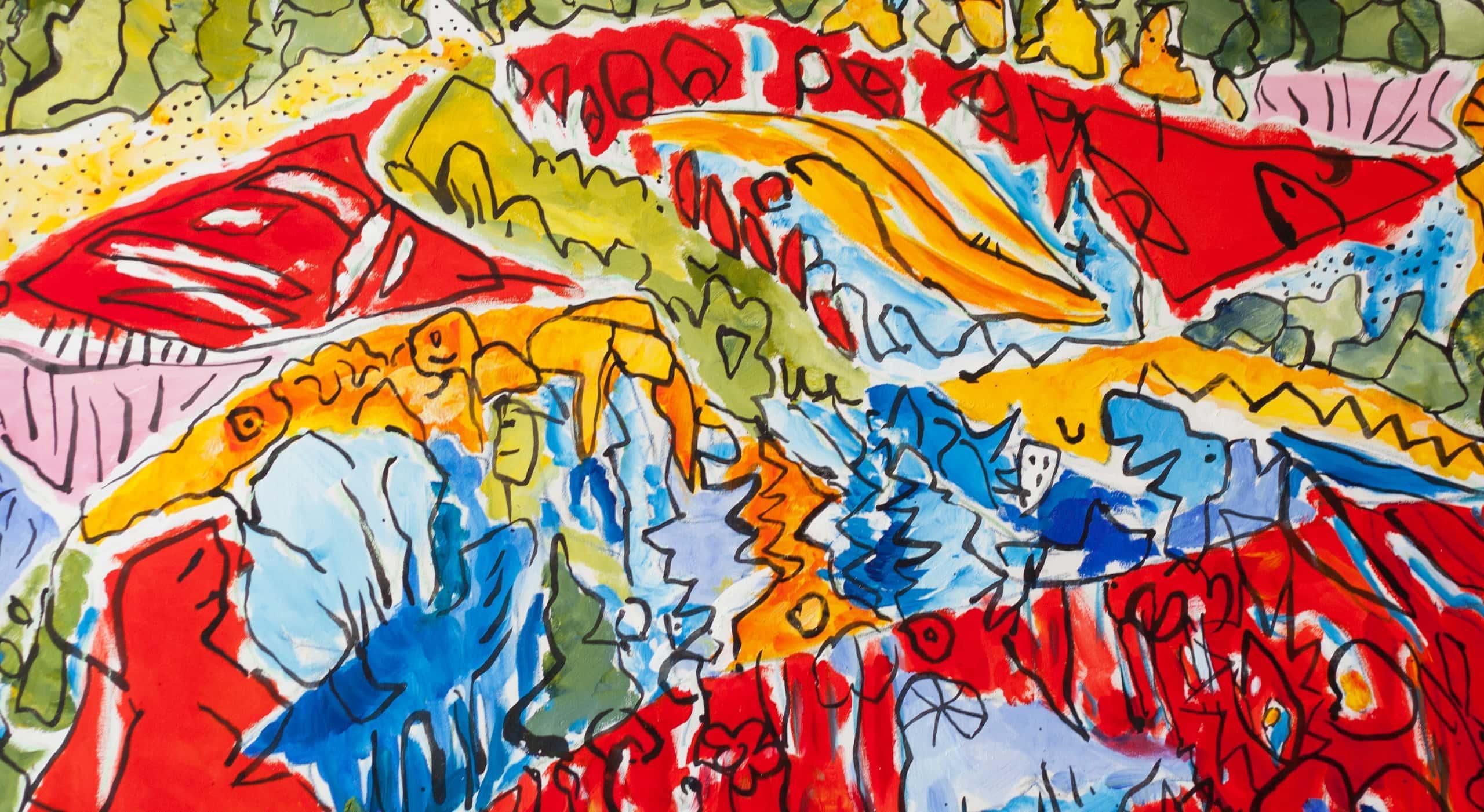 acrylbilder modern abstrakt