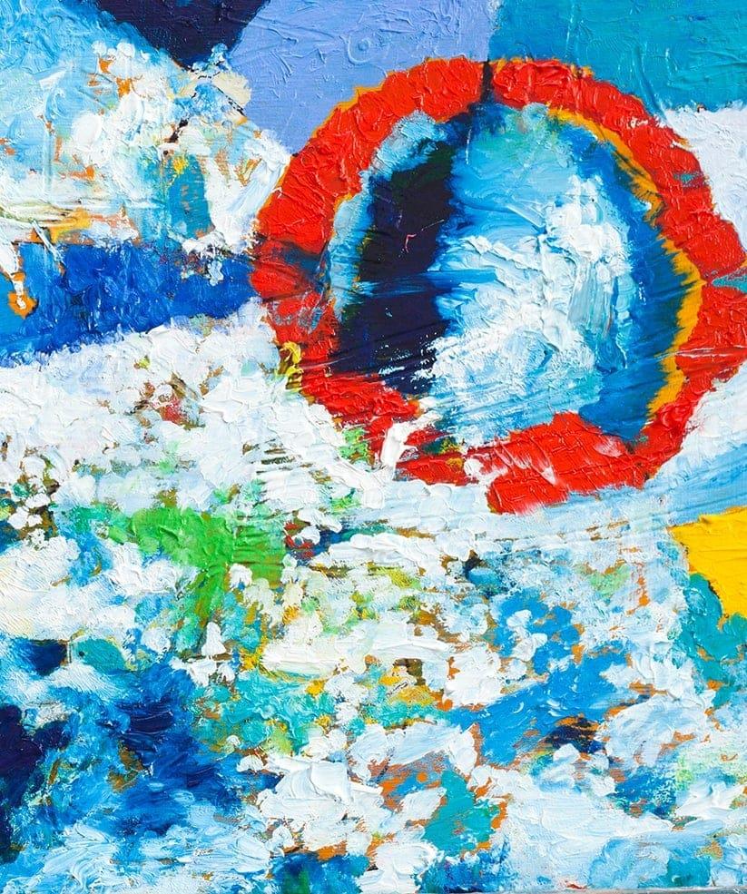 kuenstler nikolaus kriese abstrakte malerei