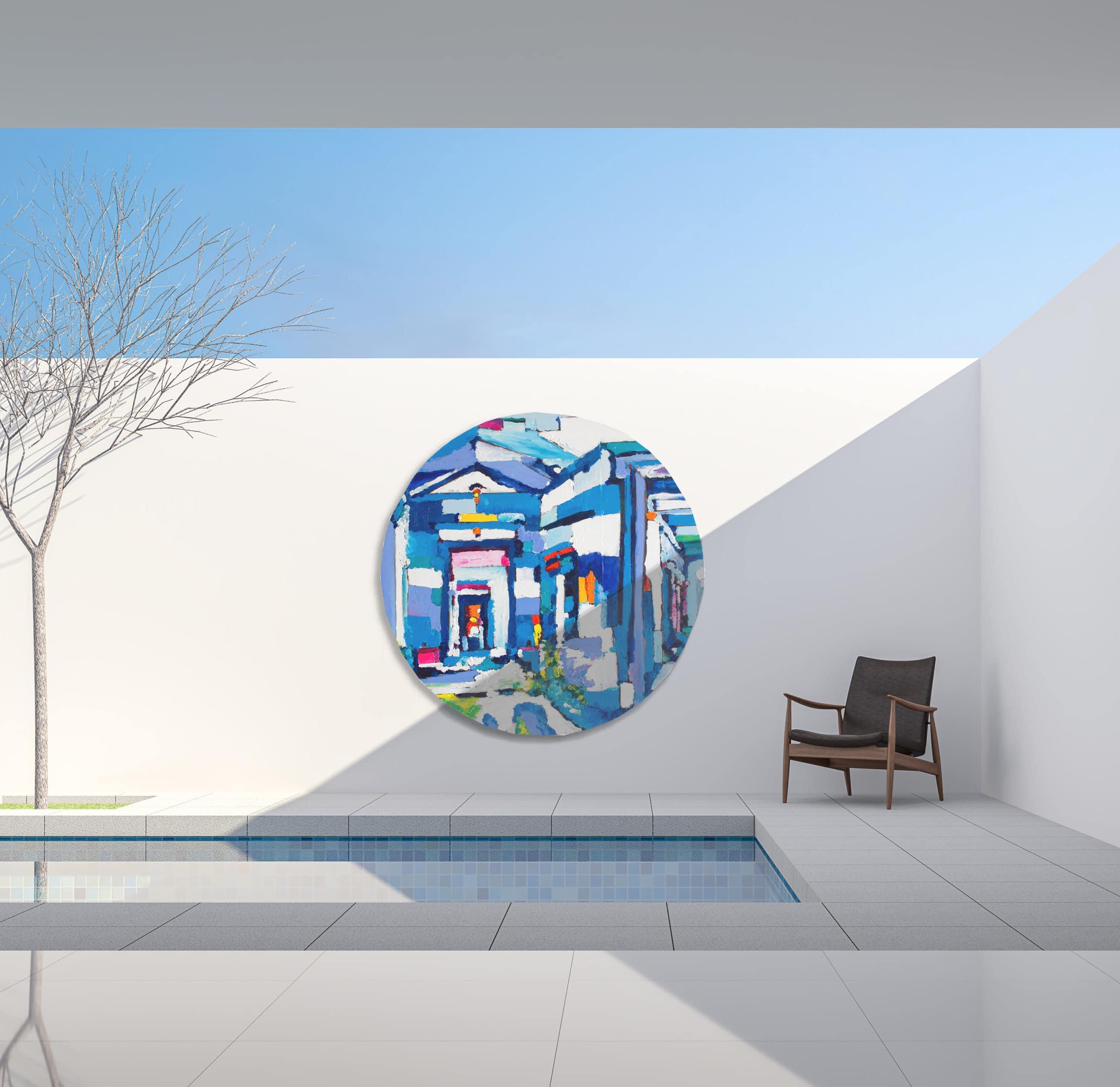 modern art loft minimalism acrylbilder