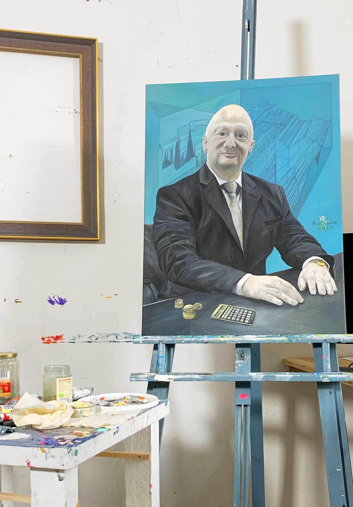 portraitmalerei kuenstler unternehmer