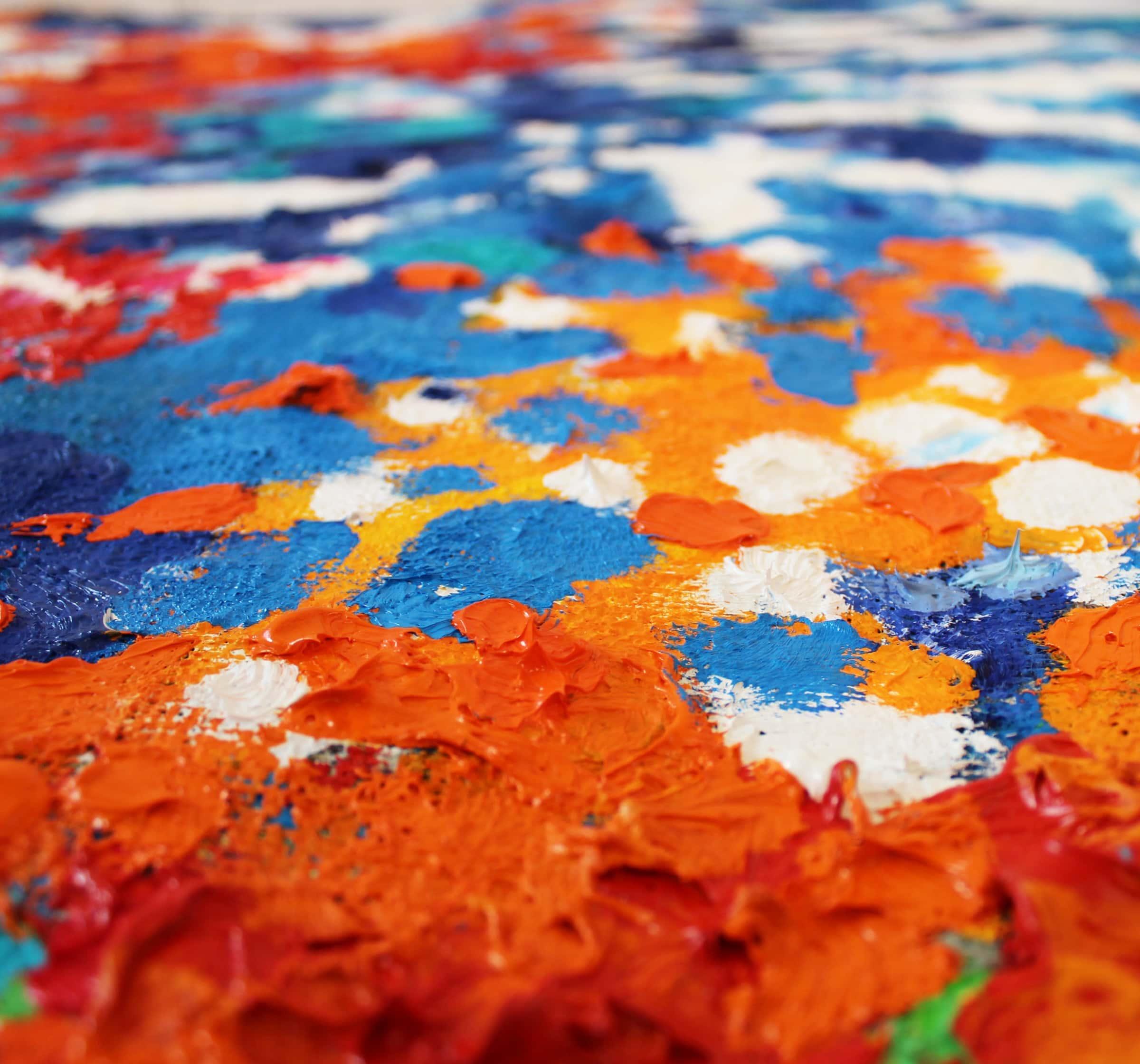 abstrakte malerei farbe