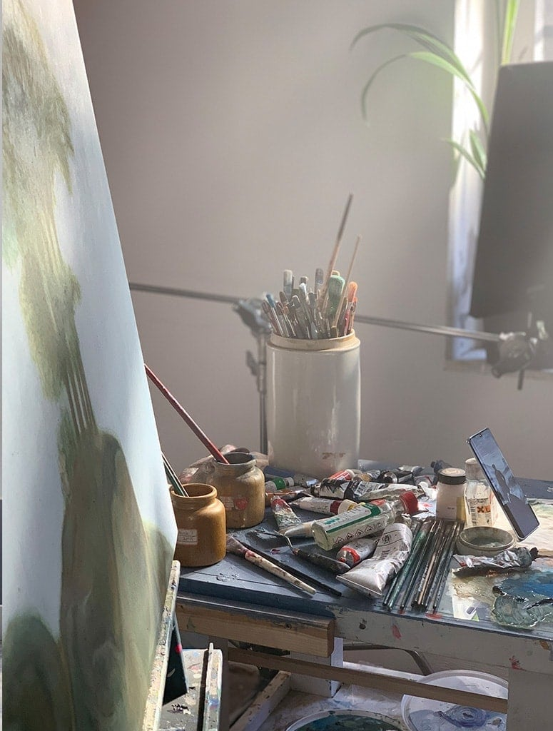 kunstkopie atelier kuenstler malerei