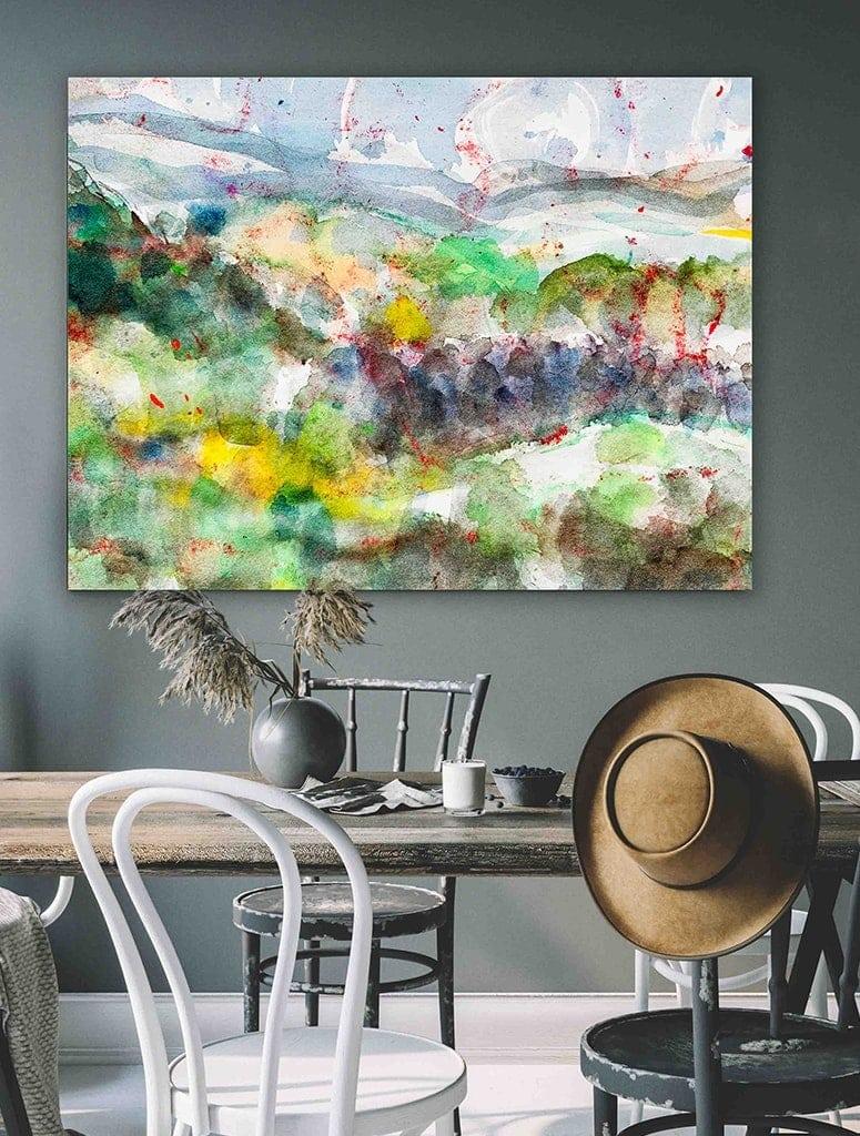 landschaftsmalerei bilder abstrakt
