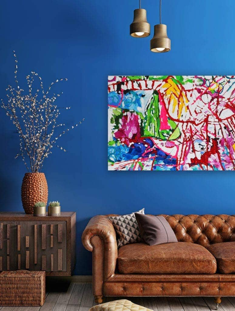 Oil paintings from artist modern wall art