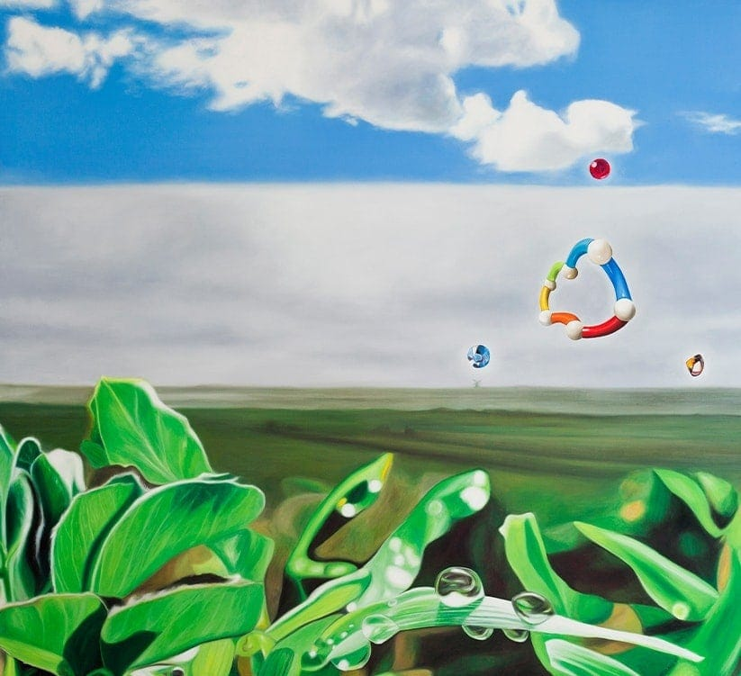 Oil paintings modern art gallery