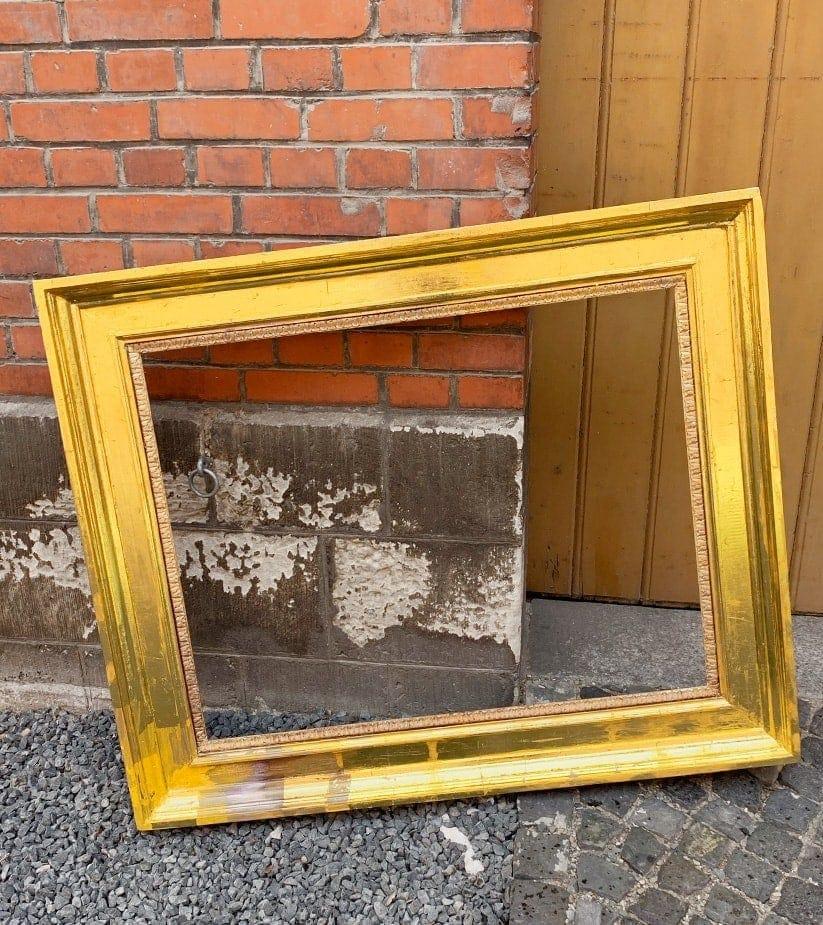 custom painting artwork frame gold