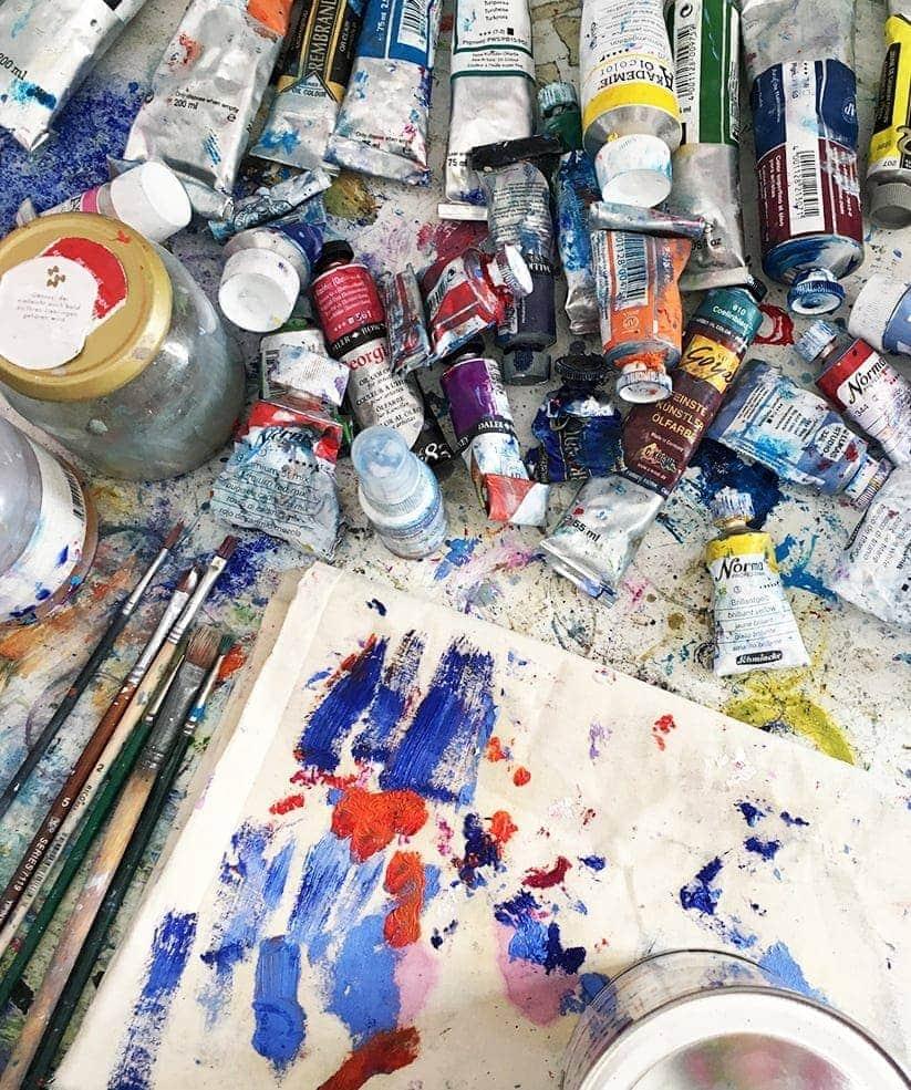 custom painting artwork studio