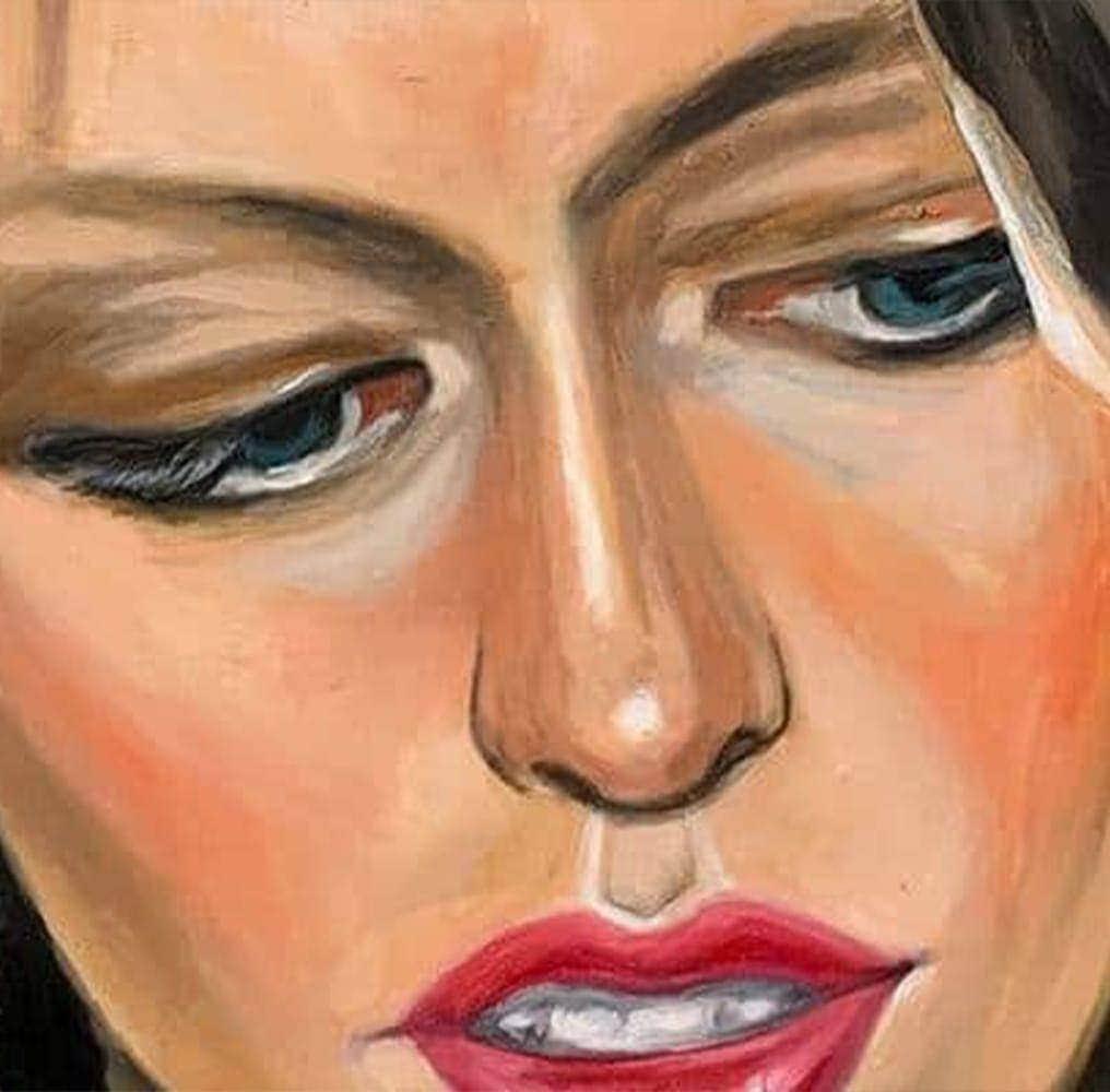order painting portrait woman