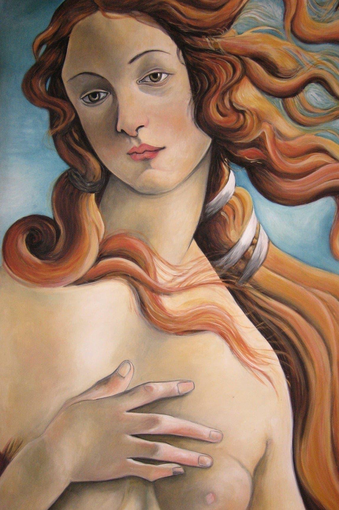 portrait painting botticelli