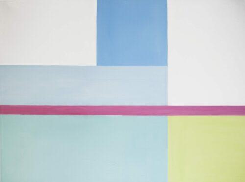 Ölgemälde Concret 160 x 140 cm, Ölfarbe auf Nesselstoff