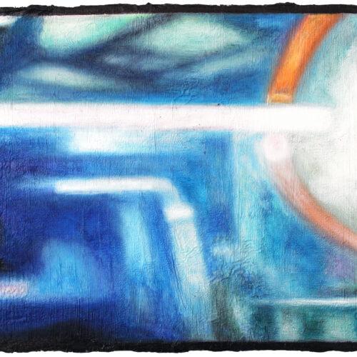 Ölgemälde Reflektion 30 x 24 cm