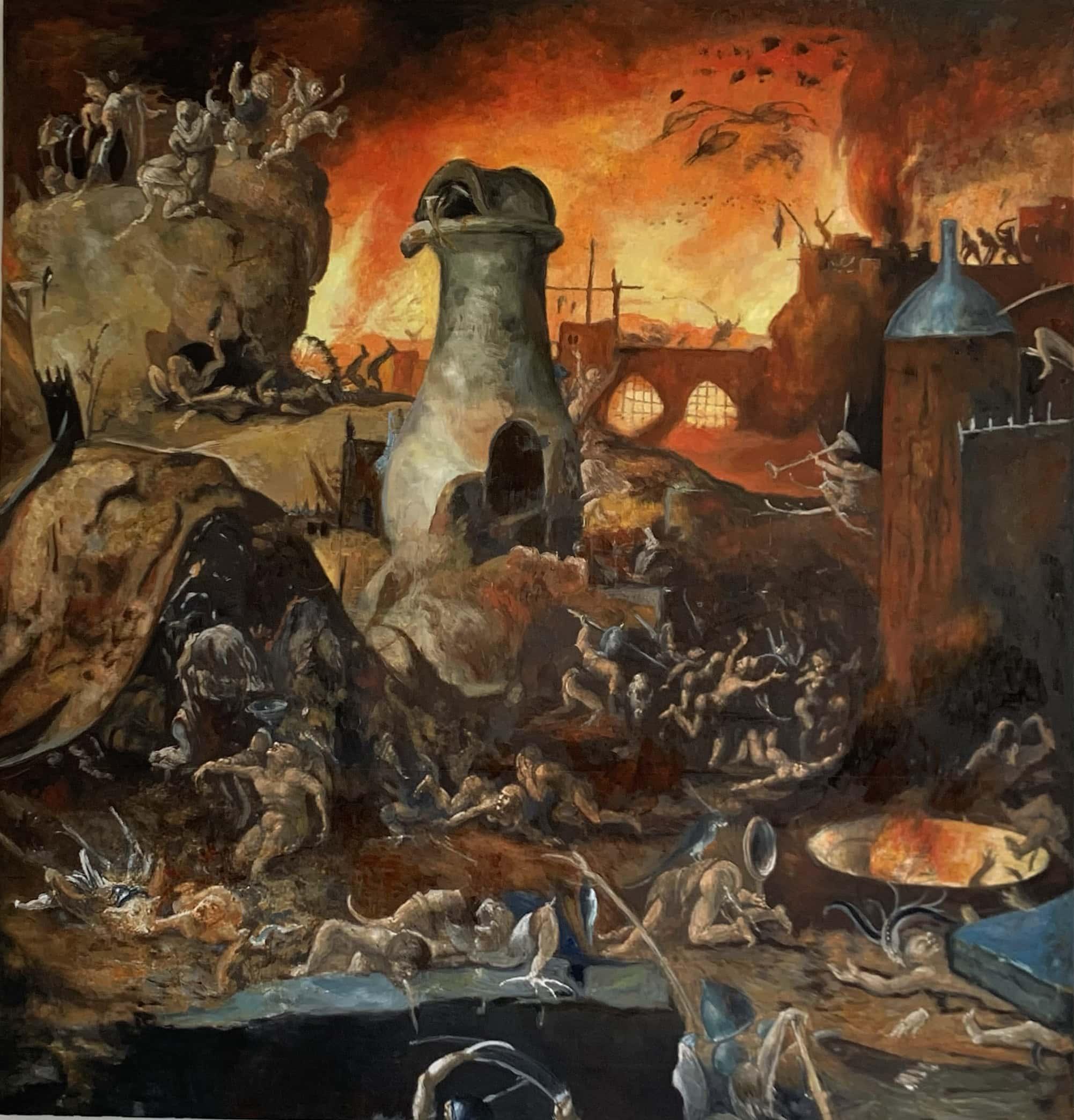 bild malen lassen kunstkopie Hieronymus Bosch